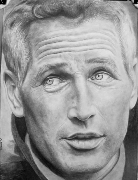 Paul Newman by StallaPolska